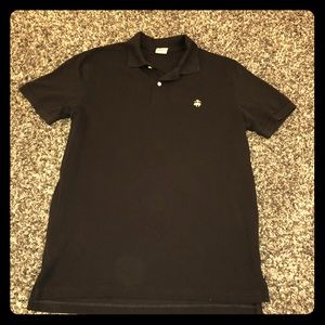 Brooks brothers black polo shirt. EUC!